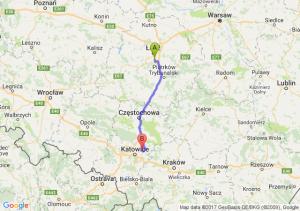 Trasa Rzgów - Dąbrowa Górnicza