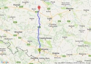 Trasa Czerwionka-Leszczyny - Koło