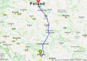 Trasa Chorzów - Ciechocinek