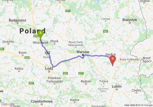 Trasa Włocławek - Łuków