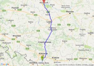 Trasa Pszczyna - Włocławek