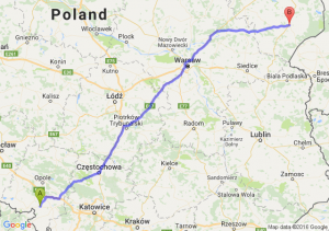 Głogówek (opolskie) - Bielsk Podlaski (podlaskie)