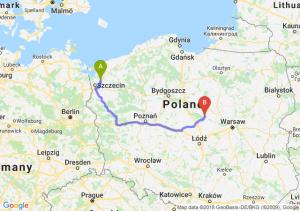 Trasa Goleniów - Płock