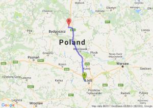 Trasa Aleksandrów Łódzki - Stolno