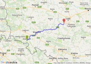 Trasa Wałbrzych - Łask