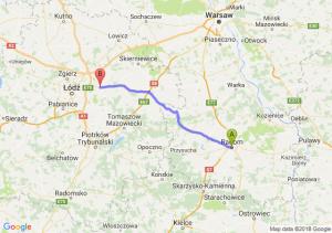 Trasa Radom - Brzeziny