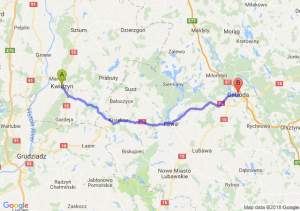 Trasa Kwidzyn - Ostróda