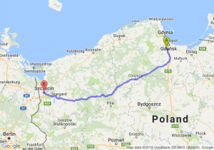 Trasa Straszyn - Szczecin