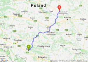 Trasa Opole - Płońsk