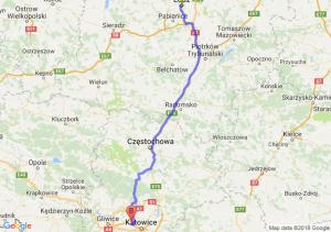 Trasa Łódź - Świętochłowice