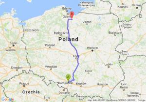 Trasa Gliwice - Malbork