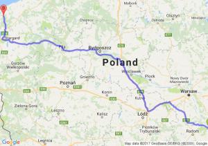 Trasa Bąkowiec - Parłowo