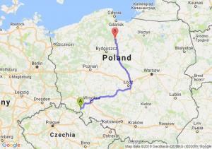 Trasa Wałbrzych - Warlubie