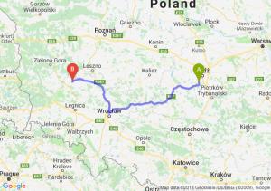 Trasa Pabianice - Głogów