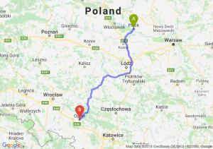 Trasa Płock - Opole