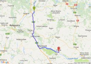 Trasa Grudziądz - Płock