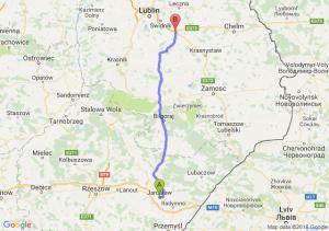 Trasa Jarosław - Piaski
