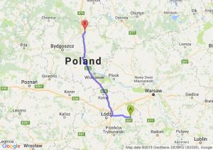 Trasa Rawa Mazowiecka - Grudziądz