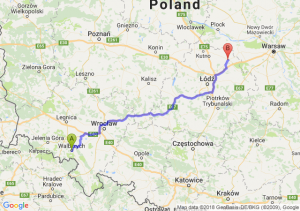 Trasa Wałbrzych - Łowicz