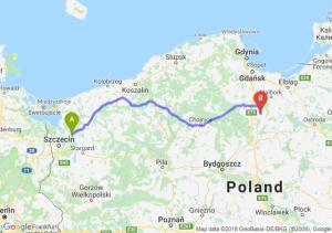 Trasa Goleniów - Gniew