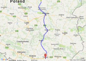 Trasa Ciechanów - Tarnów