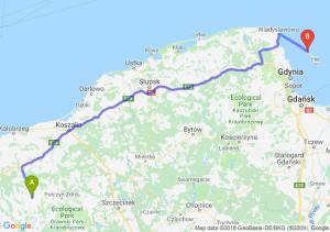 Trasa Suwałki - Jelenia Góra