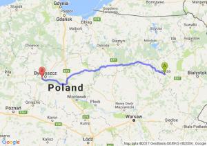 Trasa Łomża - Białe Błota