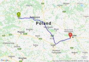 Trasa Piła - Pruszków