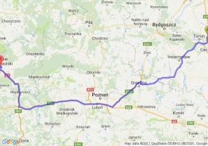 Trasa Lubicz Dolny - Gorzów Wielkopolski