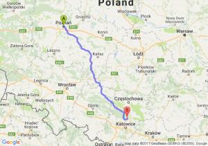 Poznań - Pyrzowice