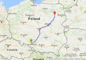 Trasa Kędzierzyn-Koźle - Łomża