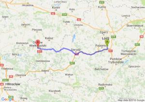 Trasa Rzgów - Ostrów Wielkopolski