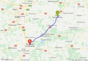 Trasa Rawa Mazowiecka - Piotrków Trybunalski