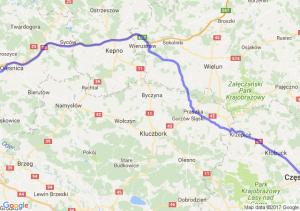 Trasa Borowa - Częstochowa