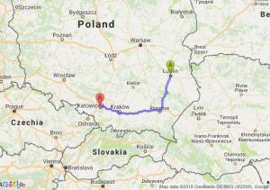 Trasa Lublin - Mikołów