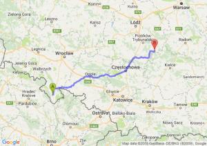 Trasa Bystrzyca Kłodzka - Żarnów