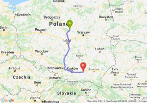 Trasa Płock - Tarnów