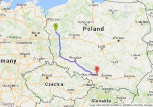 Trasa Gorzów Wielkopolski - Katowice