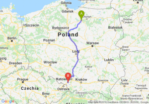Trasa Ostróda - Żory