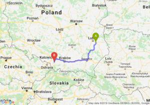 Trasa Piaski - Pszczyna