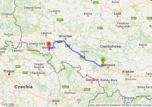 Trasa Zabrze - Wałbrzych