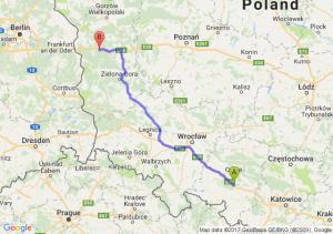 Trasa Dąbrówka Górna - Torzym