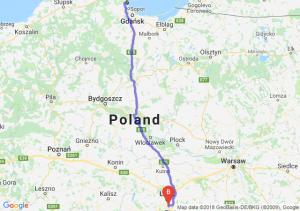 Trasa Gdynia - Rzgów