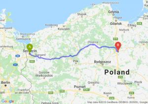 Trasa Szczecin - Grudziądz