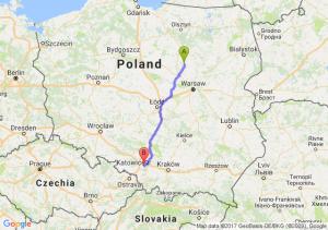 Trasa Ciechanów - Mikołów