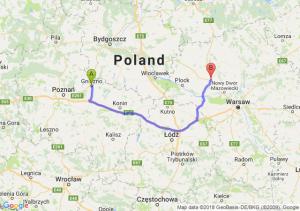 Trasa Gniezno - Płońsk