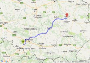 Trasa Rybnik - Puławy