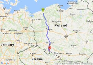 Trasa Białogard - Paczków
