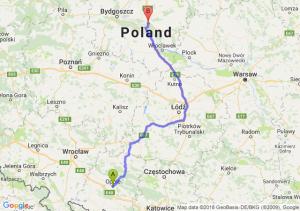 Trasa Opole - Lubicz Dolny