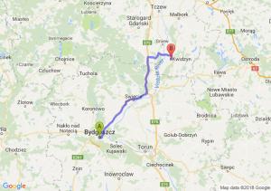 Trasa Bydgoszcz - Kwidzyn